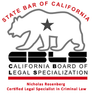 Certified Legal Specialist in Criminal Law