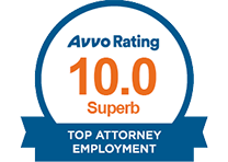 National Avvo Superb Rating - California Employment Lawyer