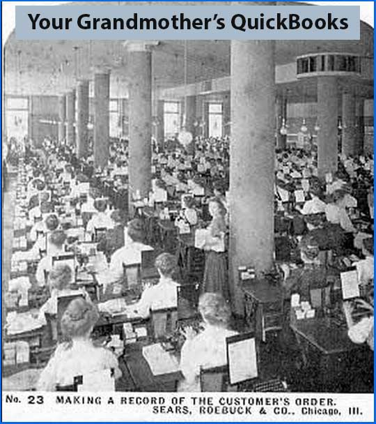 Making a record of the customer's order - Sears, Roebuck & Co., Chicago