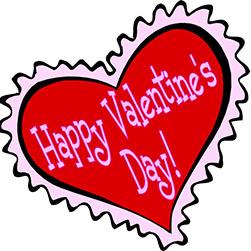 not even Valentine's day