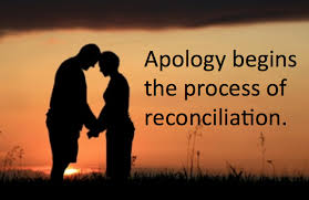 AN APOLOGY DOESN'T STAND A CHANCE, IF IT IS NOT SINCERE