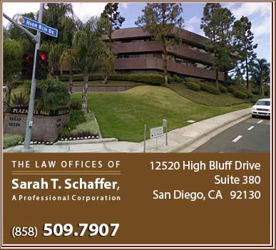 Law Offices of Sarah T. Schaffer, APC - San Diego Divorce Attorney