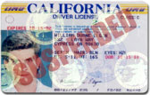 license suspension california