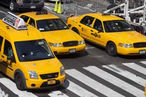 Image of NYC Taxi Cabs