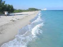 Beach in Broward County