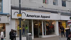 Image of American Apparel Retail store