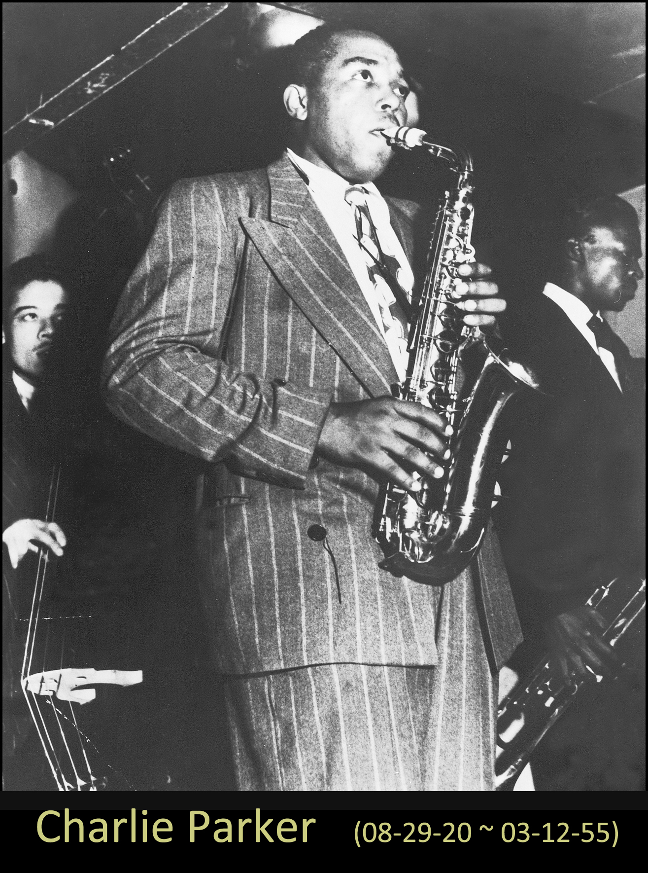 The Sax Players - Charlie Parker