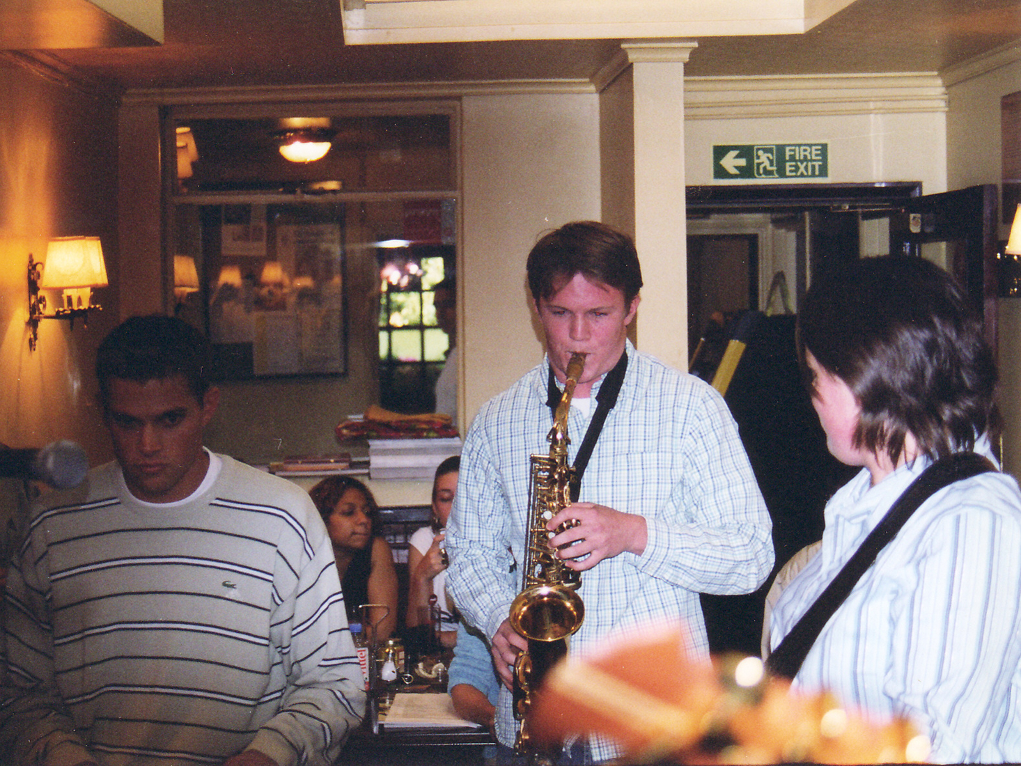 The Sax Players - Wimbledon in 2002