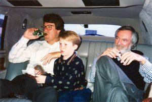 Casey, Jimmy and Casey's law partner John Davies