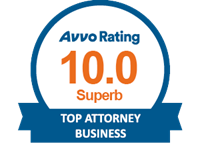 AVVO perfect 10.0 Superb Rating