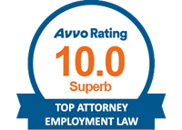 AVVO perfect 10.0 Superb Rating for Business