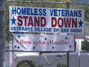 homeless veterans Banner