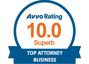 Avvo Top Attorney Business - Superb - Rating 10