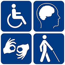 Image of Americans with Disabilities Act LOGO