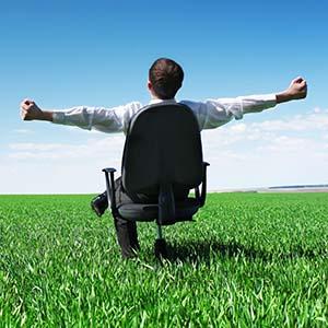 Public Benefit Corporations - Man on green lawn