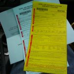 Image of traffic ticket