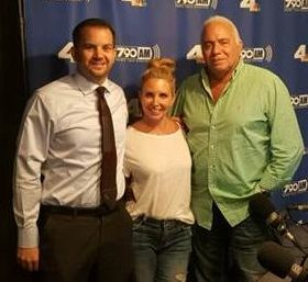 Scott Ball, Kristin Herold - Co-Host So Whats Your Problem, Stan Katzer - Executive Producer/ Host So Whats Your Problem