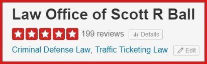YELP Rated #1 Traffic Ticket Attorney in California